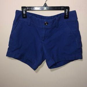 Lilly Pulitzer Blue Callahan Shorts 00